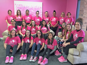 Pink Show Cleaning Crew team group photo | Pink Shoe Cleaning Crew | House Cleaning in Greater Omaha