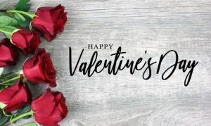 Happy Valentine's Day roses | Pink Shoe Cleaning Crew offer your valentine a clean home