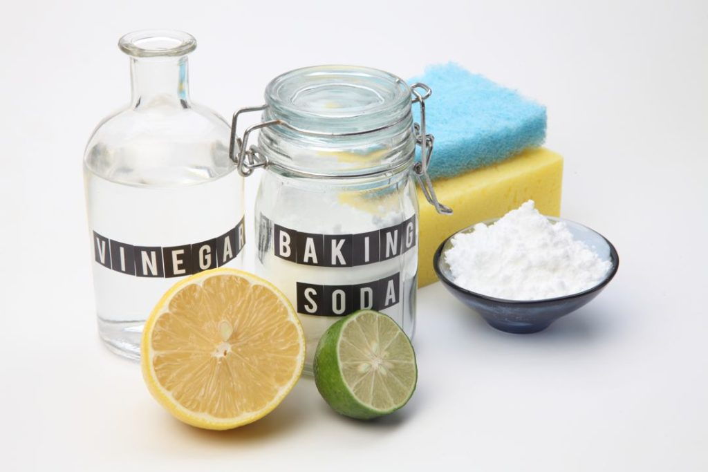 Baking Soda and vinegar green cleaning tip | Pink Shoe Cleaning Crew cleaning tips
